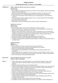 Aircraft Mechanic Resume Examples Aircraft Sheet Metal Mechanic Resume Technician Sample Stock