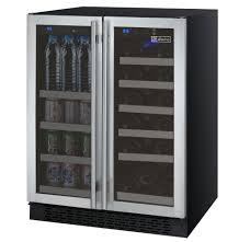 wine and beverage center. Unique Wine FlexCount 2 Door Wine RefrigeratorBeverage Center  Stainless Steel Doors With And Beverage I