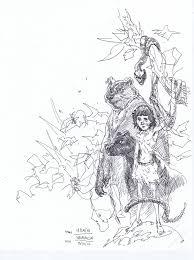 saatchi art artist paul harmon drawing the jungle book art