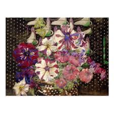 charles rennie mackintosh petunias postcard
