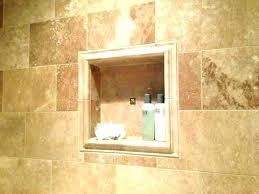 shower recessed niche niche shelf installation lovely shower recessed shampoo new beautiful stainless steel shower niche