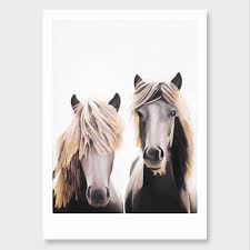 mortimer clemente horse art print by margaret petchell