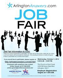 arlingtonanswers com fall job fair workforce solutions for final arlington answers employer flyer oct 2014