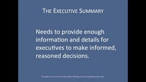 purdue owl layering reports the executive summary