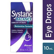 Systane Balance Lubricating Eye Drops For Dry Eyes Symptoms 10ml Walmart Com