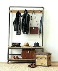 Coat Hook Rack With Mirror Mirror Coat Rack Coat Hanger With Mirror Entryway Hall Tree With 52