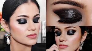 easy 3 step black smokey eye makeup for beginners tutorial in hindi with tips beauty