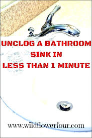 home remedy to unclog sink drain unclog kitchen drain home remedy clogged sink remedy medium size home remedy to unclog sink