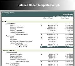 Basic Balance Sheet Template Excel 10 Balance Sheet Template Free Word Excel Pdf Formats