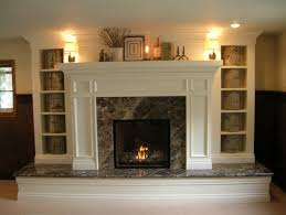 raised hearth brick fireplace makeover google search