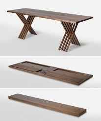 fold up chairs with side table. folding trestle tablemaybe we can hide this in the bench! or fold up chairs with side table