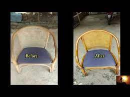 furniture restoration rattan chair