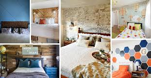 bedroom accent wall design ideas