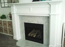 diy fireplace mantel surround