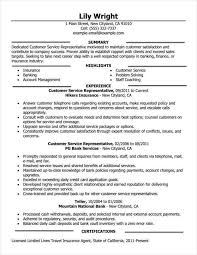 Good Resume Example Inspiration Customer Service Representative Full X Good Resumes Examples