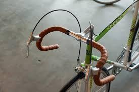 dipell leather handlebar tape