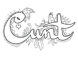 Free Printable Swear Coloring Pages Collection Of Swear Word
