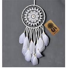 Dream Catcher Without Feathers Amazon Dremisland Dream catcher handmade traditional white 63