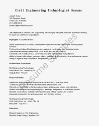 good highlights of qualifications for civil engineer technologist fullsize by teddy sher good highlights of qualifications for civil engineer technologist resume