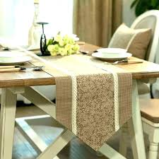table runner for round table table table runner length for round table