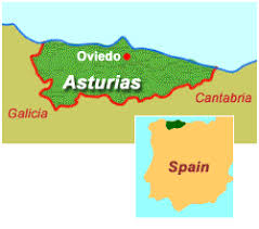 Resultado de imagen de asturias map