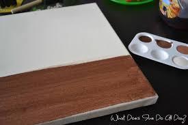 DIY Ombre Art - www.whatdoesshedoallday.com