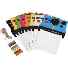 polaroid 3 x 4 vintage photo frames multi color 8 pack