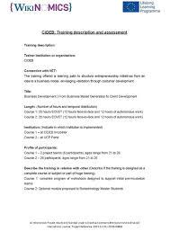 Training Report Cover Page File Wikinomics Cideb Training Report Pdf Wikipedia