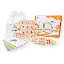The international phonetic alphabet (ipa) is a system where each symbol is associated with a particular english sound. Spin And Read Montessori Phonetic Reading Blocks Cvc Flashcard Set Little Bud Kids