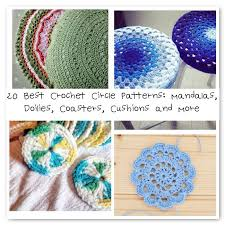 Crochet Circle Pattern Extraordinary 48 Best Crochet Circle Patterns Mandalas Doilies Coasters