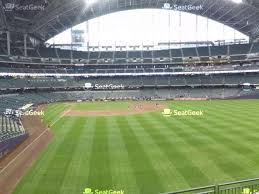 Miller Park Seating Chart Your Ticket To Sports Concerts More Seatgeek