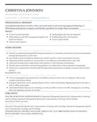 The Perfect Resume Example - My Perfect Resume