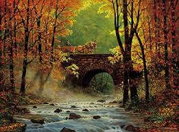 Image result for image of bridge paintings