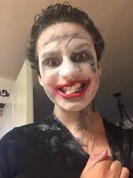 here s my jared leto joker makeup i hope you like it
