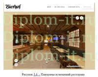 diplom it ru Прикладная информатика темы дипломных работ Проектирование и создание цифрового контента для информационной поддержки ресторанной деятельности