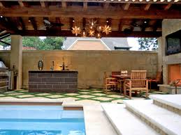 Outdoor Kitchen And Pool Video And Photos Madlonsbigbearcom - Outdoor kitchen designs with pool