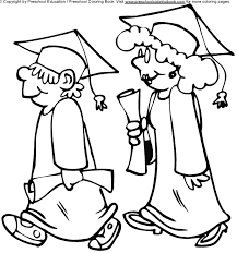 Kindergarten Graduation Coloring Pages 13 Preschool Graduation Coloring Pages Graduation Desehos Colouring