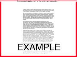romeo and juliet essay on lack of communication research paper help romeo and juliet essay on lack of communication romeo and juliet bad communication no