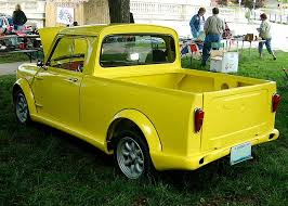 TOO COOL: Classic MINI Pickup Truck..