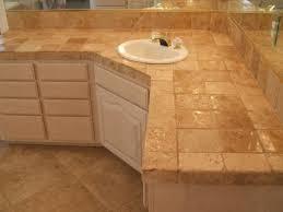 Granite Bathroom Tile Tile Bathroom Sink Countertop