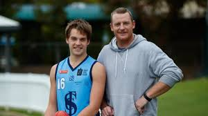 Sturt's Casey Voss, the son of Brisbane great and Power assistant ...