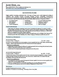 Sample Resume For Cpa Keyword Optimized Junior Accountant Resume Template Sample  Curriculum Vitae Cpa