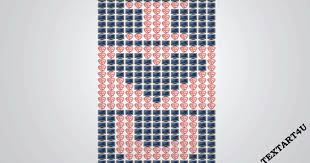 I Love You Emoji Art For Facebook Comments Cool Ascii Text