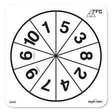 number templates 1 10 25 images of wedge 10 spinner template crazybiker net