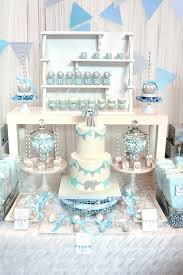 baby boy shower centerpieces diy elephant theme home design ideas