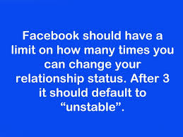 Funny Facebook Quotes Fascinating FacebookfunnyquoterelationshipunstableFavim48