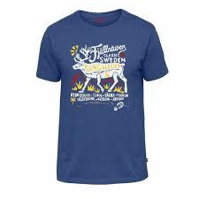 <b>Футболка Fjallraven</b> - <b>Classic</b> SWE <b>T</b>-<b>Shirt</b>, Deep Blue, р.M (81944 ...
