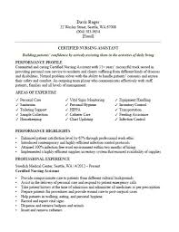Cna Resume Examples Custom CNA Resume Samples Complete Guidance CLR