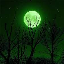 full moon green 5k iPad Air Wallpapers ...