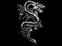 Black and White Dragon Wallpapers - Top ...